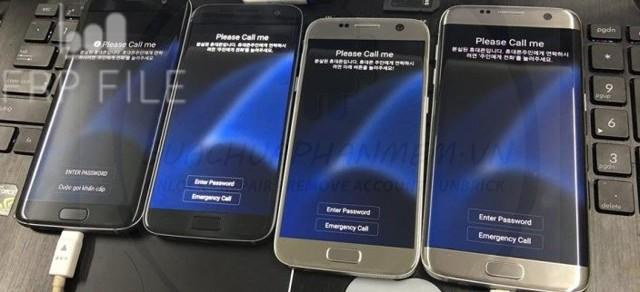 Hình ảnh minh họa một chiếc máy Samsung bị dính Please Call Me